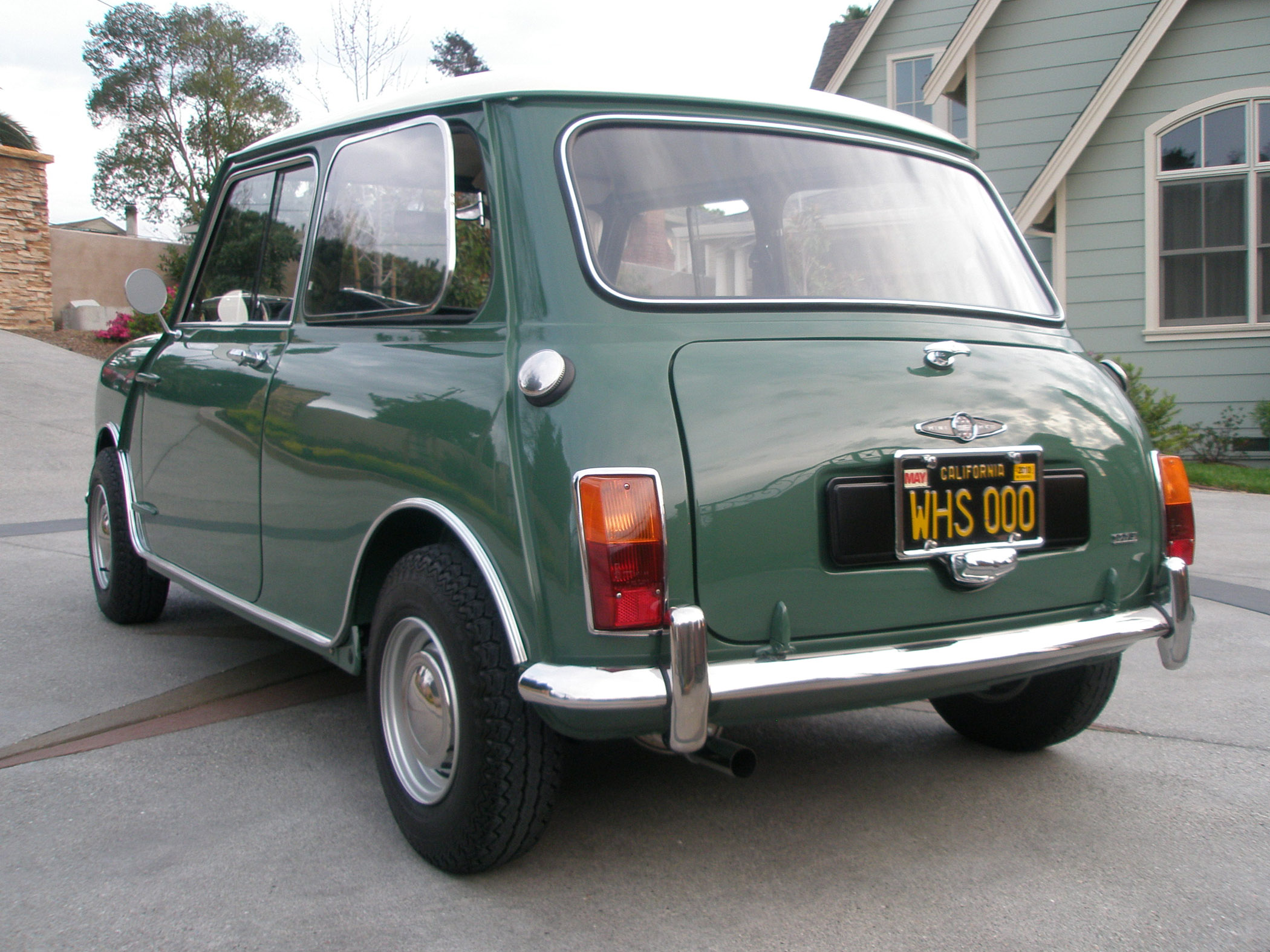 1967 mini cooper mark ii 1967 mini rear. Black Bedroom Furniture Sets. Home Design Ideas