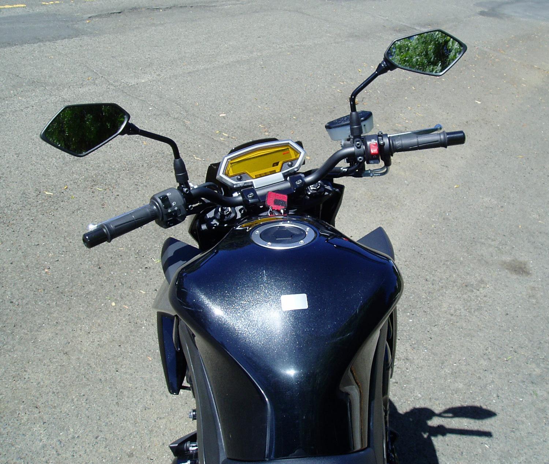Kawasaki Z1000: Better Naked Ride Kawasaki Z1000 _ rear